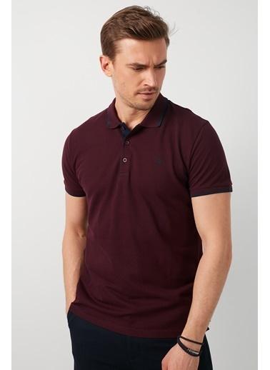 Buratti Buratti Polo Yaka Erkek T-Shirt 5902118 Bordo